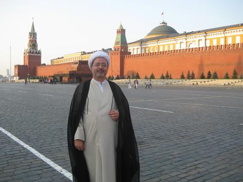 الشيخ محمد الحسون في موسكو